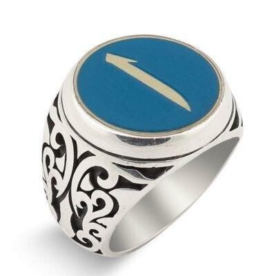 Mineli Elif Gümüş Yüzük - Thumbnail